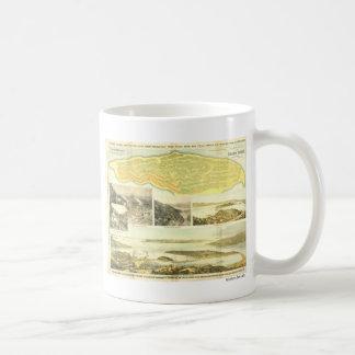 Belvedere Peninsula, Marin County, ca. 1890.  Classic White Coffee Mug