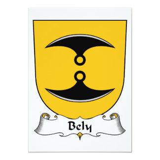 Bely Family Crest Custom Invitation