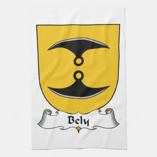Bely Family Crest Hand Towels