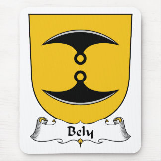 Bely Family Crest Mouse Pad