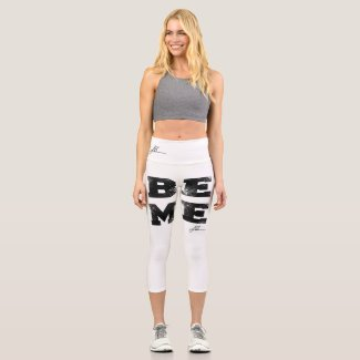 BeMe Legs Capri Leggings