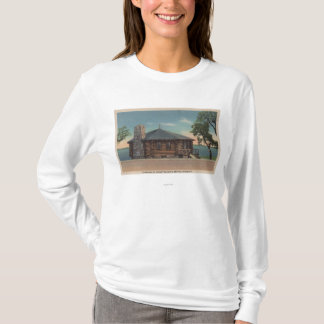 Bemidji, MN - View of Fireplace of States Bldg T-Shirt