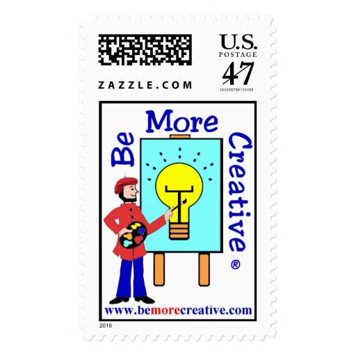 BeMoreCreative sello de 44 centavos