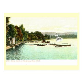 Bemus Point, Chautaqua Lake, New York Vintage Postcard