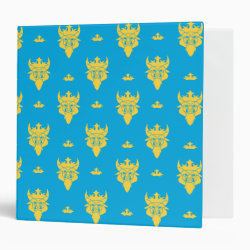 Avery Signature 1' Binder with Prince Ben Beast Royal Pattern design