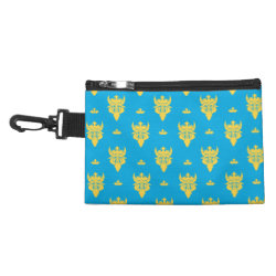 Clip On Accessory Bag with Prince Ben Beast Royal Pattern design