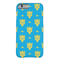 Prince Ben Beast Royal Pattern Case-Mate Barely There iPhone 6 Case