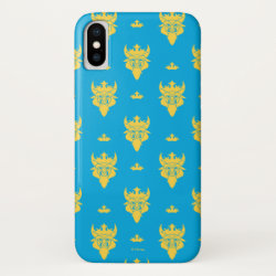 Case-Mate Barely There iPhone X Case with Prince Ben Beast Royal Pattern design