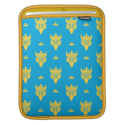 iPad Sleeve with Prince Ben Beast Royal Pattern design
