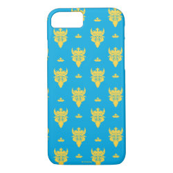 Prince Ben Beast Royal Pattern Case-Mate Barely There iPhone 7 Case