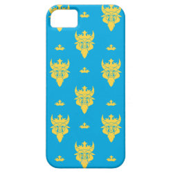 Case-Mate Vibe iPhone 5 Case with Prince Ben Beast Royal Pattern design