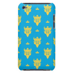 Prince Ben Beast Royal Pattern Case-Mate iPod Touch Barely There Case