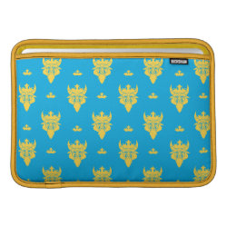 Macbook Air Sleeve with Prince Ben Beast Royal Pattern design