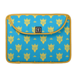 Macbook Pro 13' Flap Sleeve with Prince Ben Beast Royal Pattern design