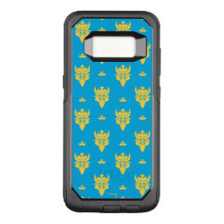OtterBox Commuter Samsung Galaxy S8 Case with Prince Ben Beast Royal Pattern design