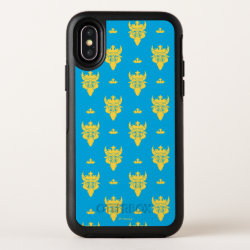 OtterBox Apple iPhone X Symmetry Case with Prince Ben Beast Royal Pattern design