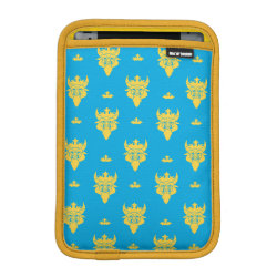 iPad Mini Sleeve with Prince Ben Beast Royal Pattern design