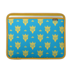 Prince Ben Beast Royal Pattern Macbook Air Sleeve
