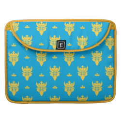 Macbook Pro 15' Flap Sleeve with Prince Ben Beast Royal Pattern design