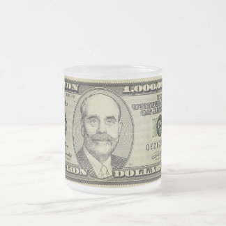 Ben Bernanke Billion Bank NoteMug Mug