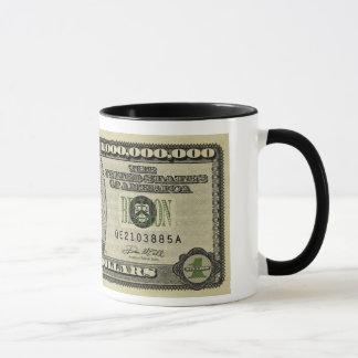 Ben Bernanke Billion Dollar Bill Mugs
