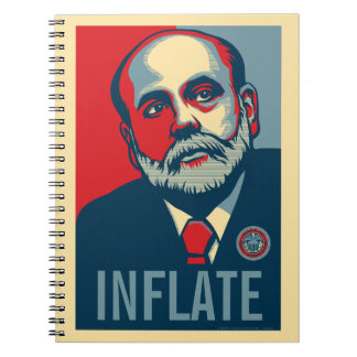 Ben Bernanke Customizable Notebook
