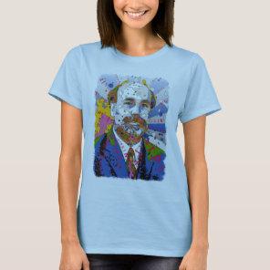 Ben Bernanke is Full Color - PRINT! T-Shirt