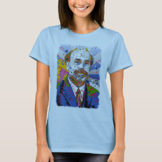 Ben Bernanke is Full Color - PRINT! T-Shirt