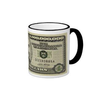 Ben Bernanke mil millones tazas del billete de dól