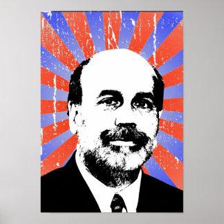 Ben Bernanke Poster