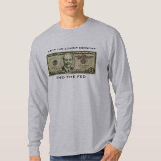 Ben Bernanke Zombie Billions T-Shirt