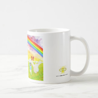 Ben, Bob and Bo and the Rainbow Classic White Coffee Mug