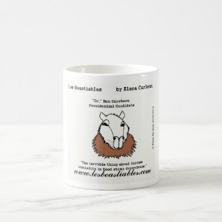 Ben Capybara on income inequality and food stamps Coffee Mug