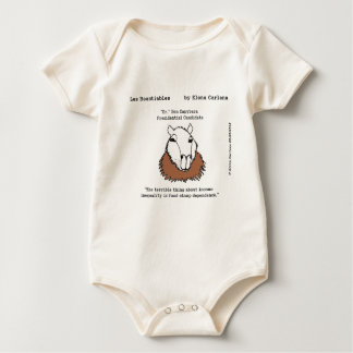 Ben Capybara on Income Inequality Baby Bodysuit