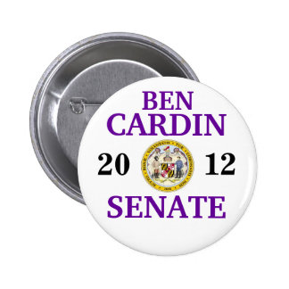 BEN CARDIN FOR SENATE 2 INCH ROUND BUTTON