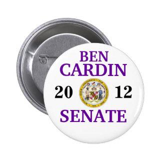 BEN CARDIN PARA EL SENADO PIN REDONDO DE 2 PULGADAS