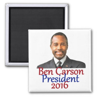 Ben CARSON 2016 2 Inch Square Magnet