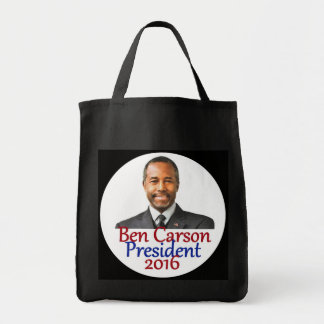 Ben CARSON 2016 Grocery Tote Bag