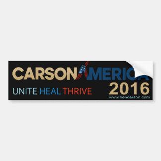 Ben Carson 2016 Bumper Sticker Car Bumper Sticker