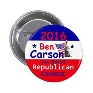 Ben CARSON 2016 Button