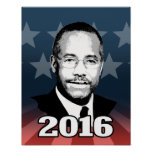 BEN CARSON 2016 CANDIDATE POSTER