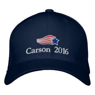 Ben Carson 2016 Flying Star Logo Embroidered Hat
