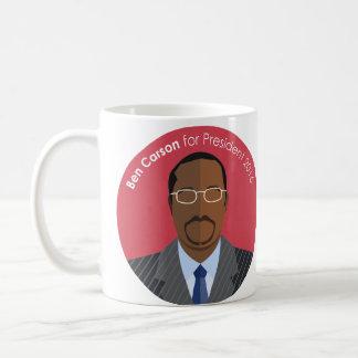 Ben Carson 2016 for president custom mug