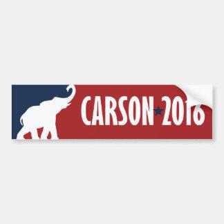 Ben Carson 2016 GOP Candidate Bumper -.png Bumper Sticker