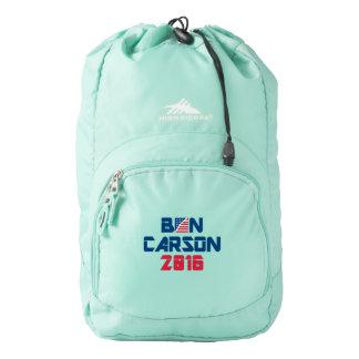Ben Carson 2016 High Sierra Backpack