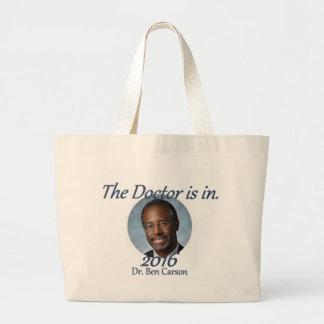 Ben CARSON 2016 Large Tote Bag