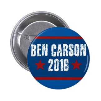 Ben Carson 2016 Pinback Button