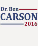 Ben Carson 2016 Playera
