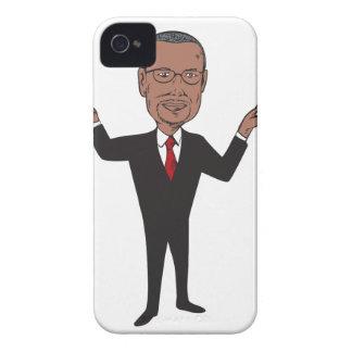 Ben Carson 2016 Republican Candidate Cartoon Case-Mate iPhone 4 Case
