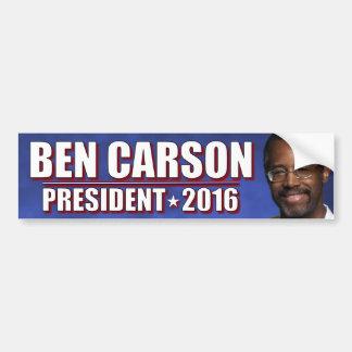 Ben Carson for President 2016 Car Bumper Sticker